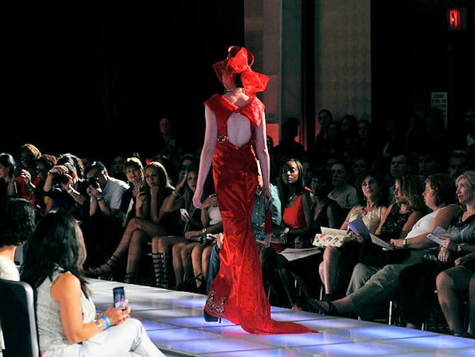 Couture Fashion Week in NY - Andres Aquino