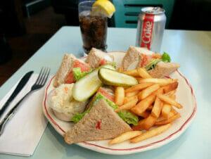Mittagessen in New York