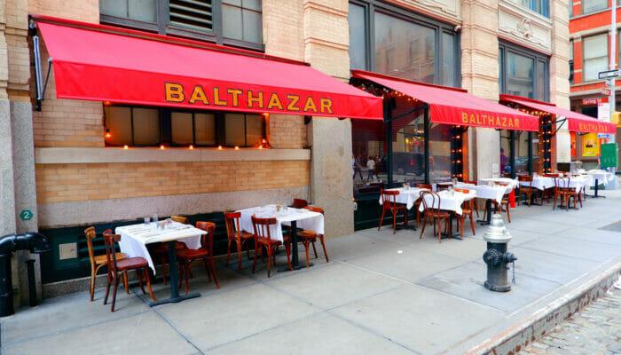 Mittagessen in New York - Balthazar 1