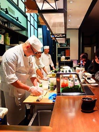 Sushi in New York - Takahachi
