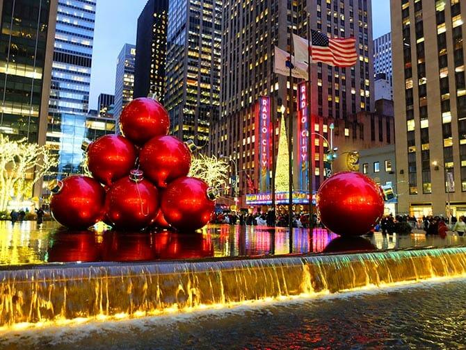 Weihnachten in New York - Weihnachtsdekoration in New York