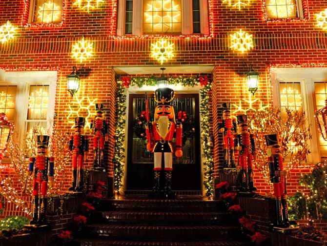 Weihnachtszeit in New York - Dyker Heights Dekorationen