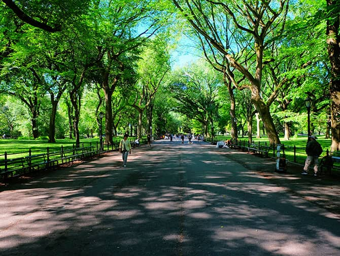 Labor Day in New York - Spaziergang im Central Park