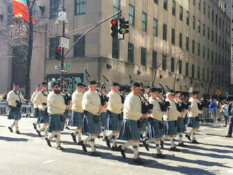 St Patricks Day Parade in New York