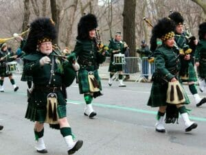 St Patricks in New York