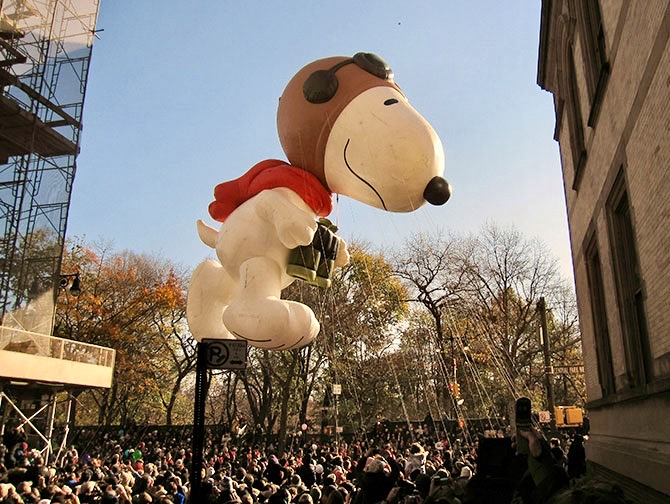 Thanksgiving in New York - Snoopy Balloon