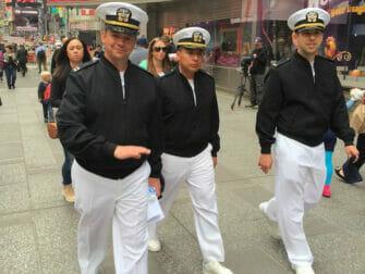 Fleet Week New York City im Mai