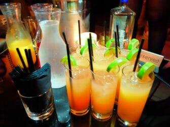New York Nachtclub Erlebnis - Getränke