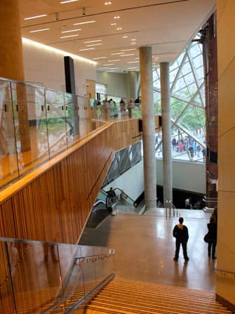 9/11 Museum in New York - Architektur