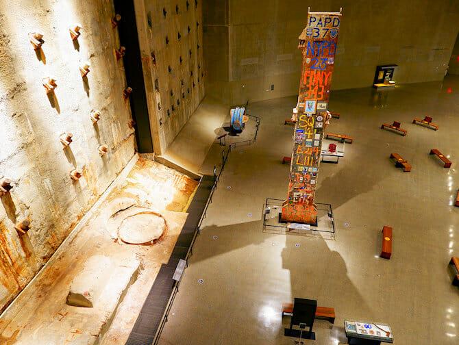 9/11 Museum in New York - Besucher