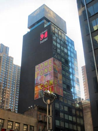 citizenM times square hotel in new york city