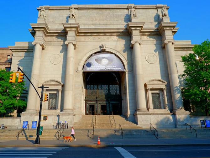 Neujahr in New York - American Museum of Natural History
