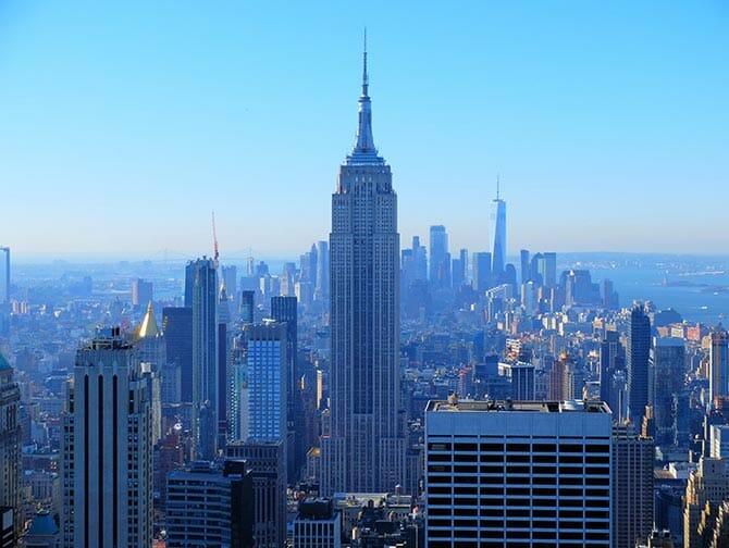 Neujahr in New York - Aussicht vom Top of the Rock