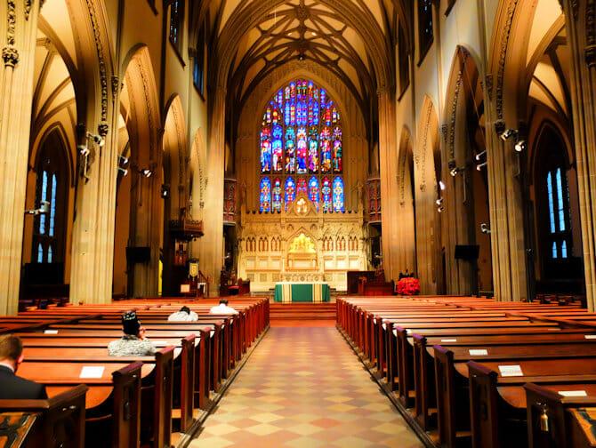 Trinity Church Lower Manhattan New York