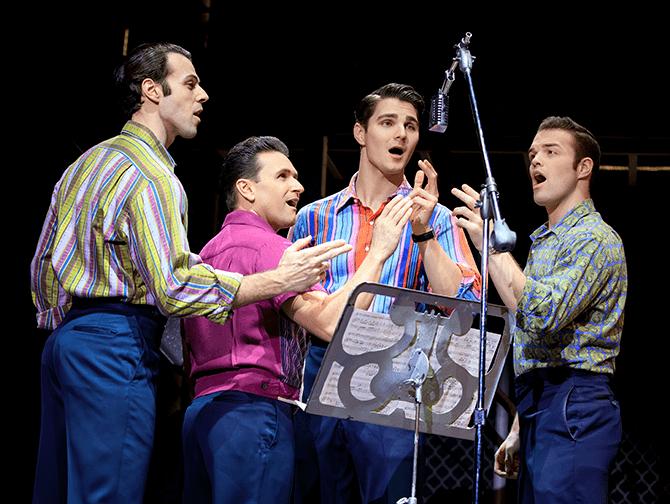 Jersey Boys in New York Tickets - Frankie Valli und The Four Seasons