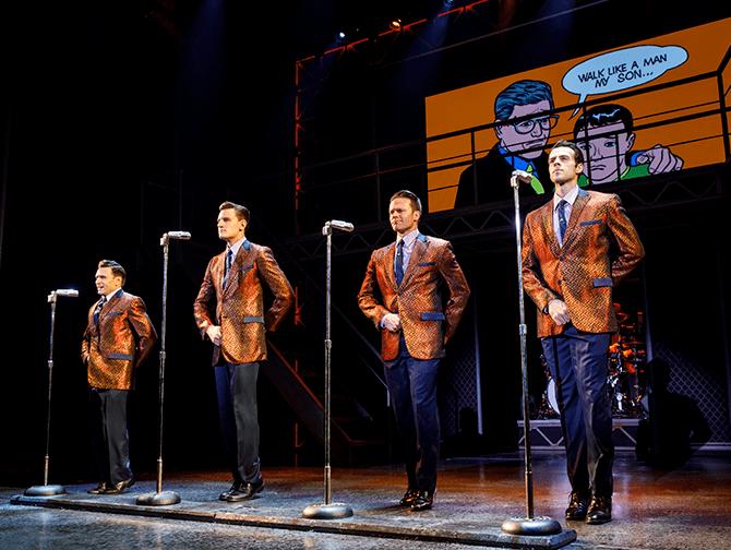 Jersey Boys in New York Tickets - Auftritt