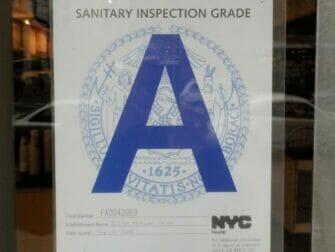 Bewertung A Restaurants in New York