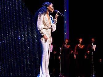 Motown das Musical am Broadway Tickets - Gesangsszene