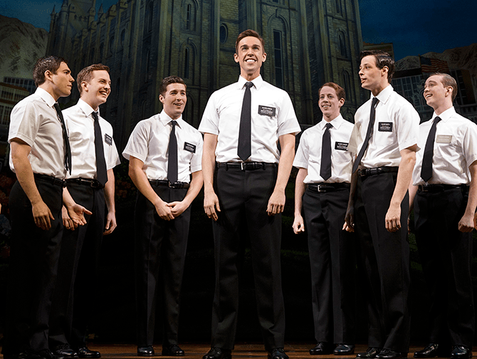The Book of Mormon am Broadway Tickets - Missionare