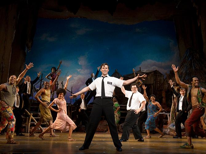 The Book of Mormon am Broadway Tickets - Mit Einheimischen