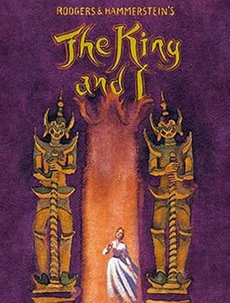 The King and I am Broadway - Poster