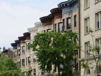 Brooklyn Tour - Prospect Park Häuser