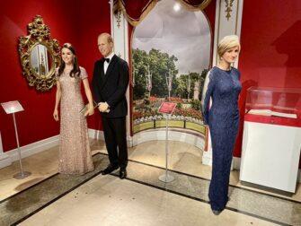 Madame Tussauds in New York - Königliche Familie