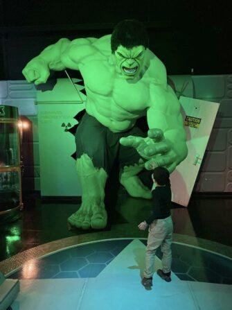 Madame Tussauds in New York - Der Hulk