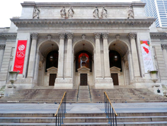 New York Architektur Tour - Public Library