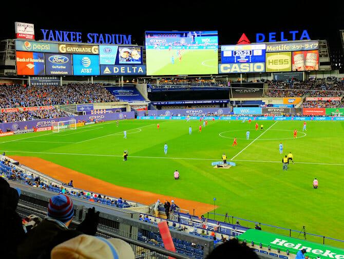 New York City FC - Yankee Stadium