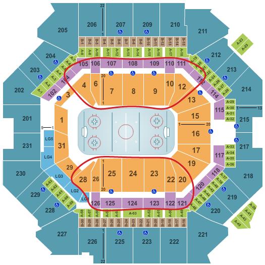 New York Islanders Tickets - Barclays Center Sitzplan