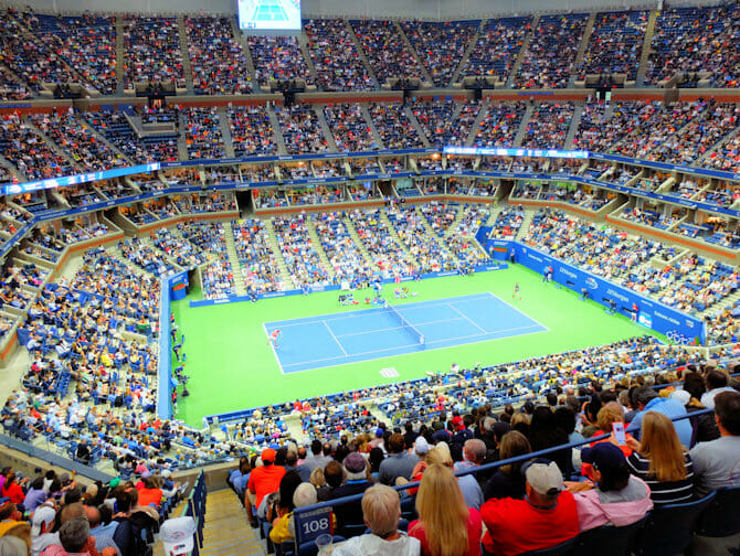 US Open Tennis Tickets - Tennisspiel