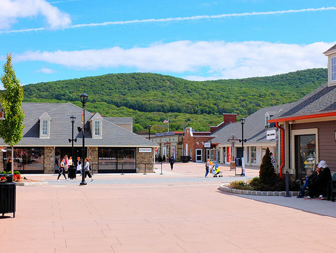 Woodbury Common Premium Outlet Center in New York - Platz