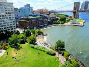 Brooklyn Bridge Park in New York