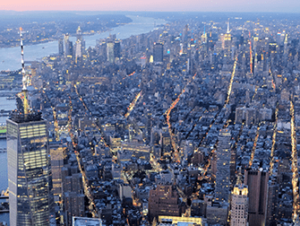 Helikopter- und Bootstour am Abend in New York