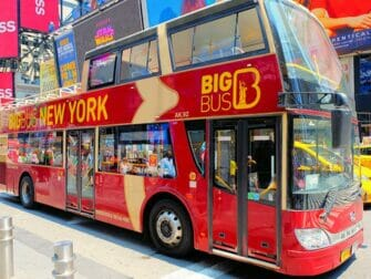 Hop on Hop off Bus in New York - Big Bus