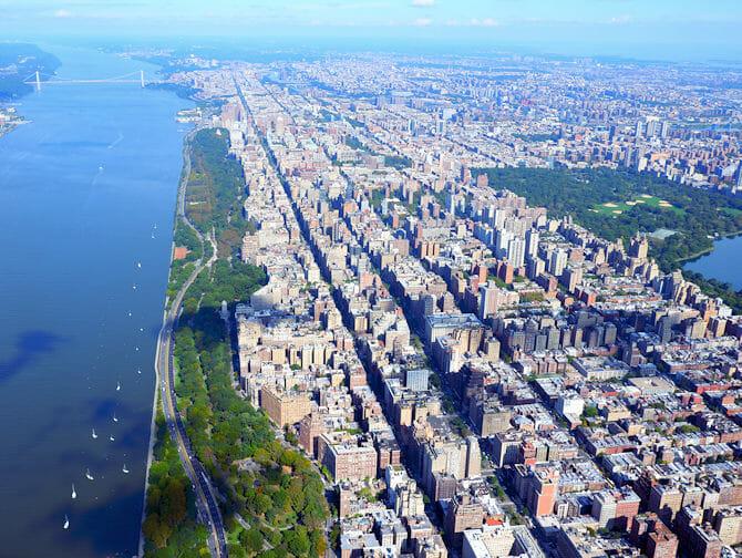 New York Helikopter-Rundflug - Sicht auf den Central Park