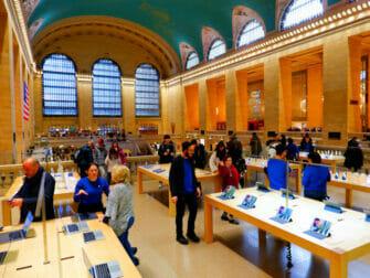 Elektrische Geräte und Gadgets in New York - Apple Store Grand Central