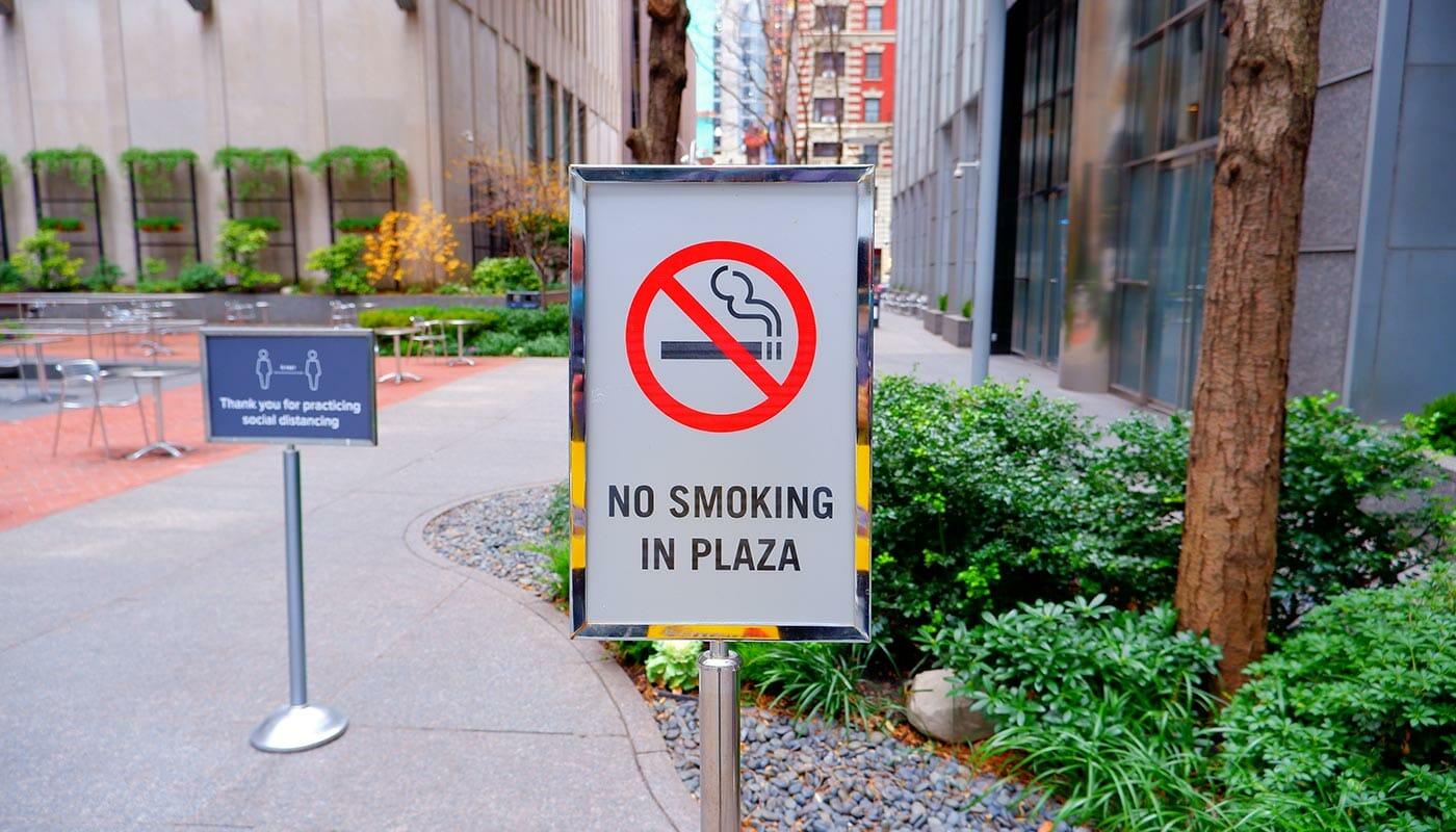 Rauchen in NYC - Rauchverbot in Parks