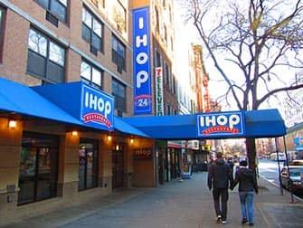 Typisch Amerikanische Essen in NYC - IHOP