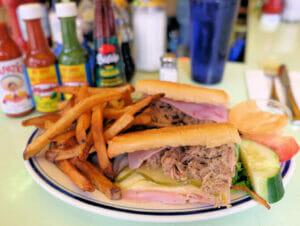 Typisch Amerikanisches Essen in New York