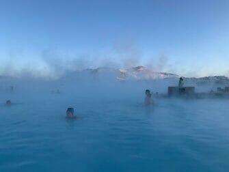 Zwischenstopp auf Island auf dem Weg nach New York - Blaue Lagune