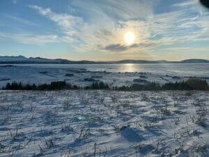 Zwischenstopp auf Island auf dem Weg nach New York