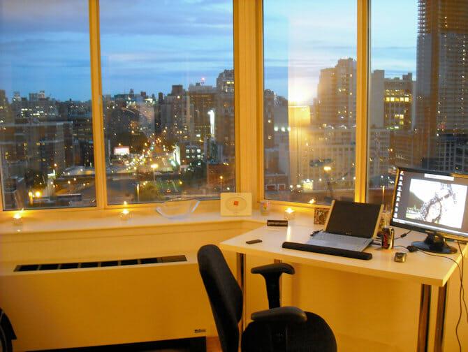 Leben und Arbeiten in NYC - Wohnung mit Aussicht
