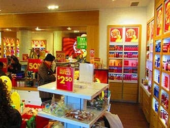 Make-up in New York - Bath & Body Works Interieur