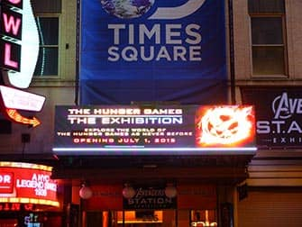 Discovery Times Square - Die Tribute von Panem - The Hunger Games