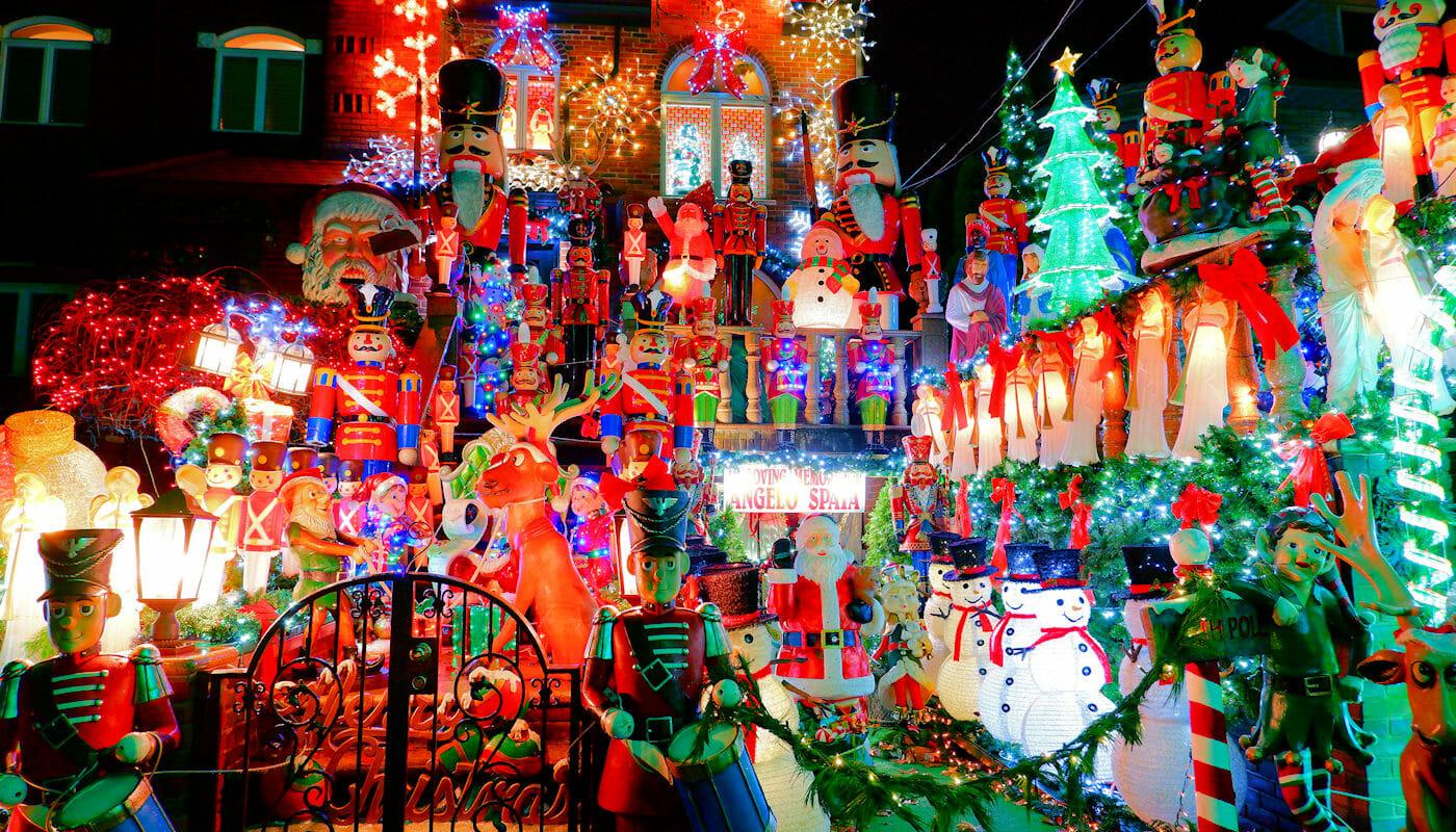 Dyker Heights Christmas Lights - Figuren