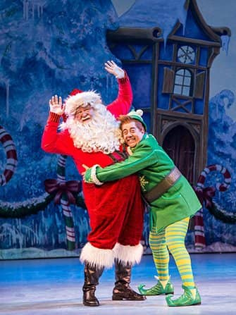 Elf the Christmas Musical Tickets - Buddy und Santa