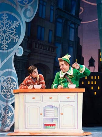 Elf the Christmas Musical Tickets - Abendessen