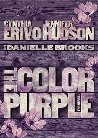 The Color Purple am Broadway - Poster
